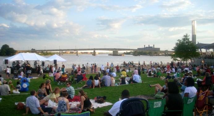 waterfront park in Washington, DC