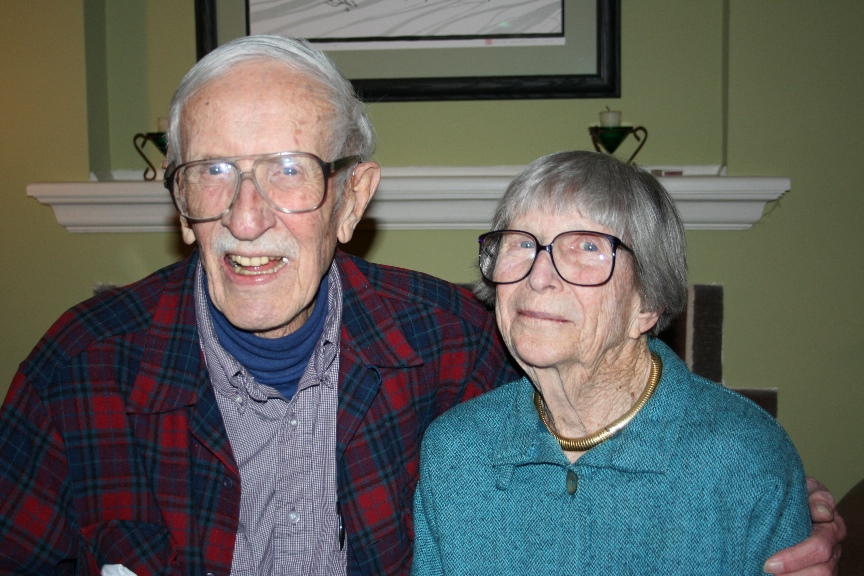"Founding Members Harold ""Bud"" Jordahl & Emily H. Earley"
