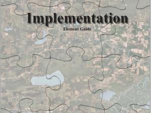 Implementation Element Guide