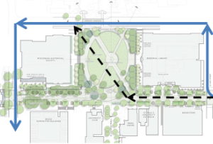State Street Mall Great Placemaking Idea #6: Alternate Bike Route