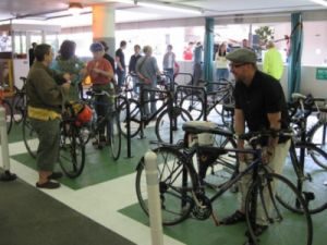 State Street Mall Great Placemaking Idea #5: Using covered bike parking and bike valet services to handle increased bike traffic