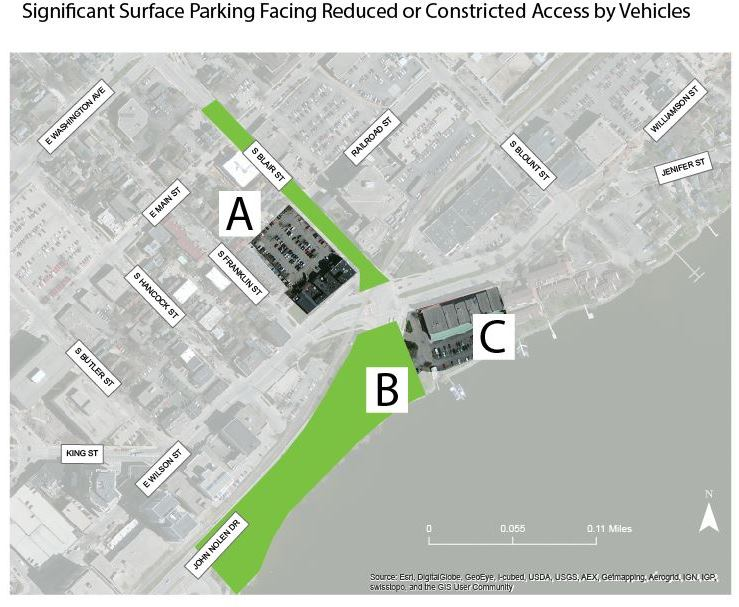 surface parking