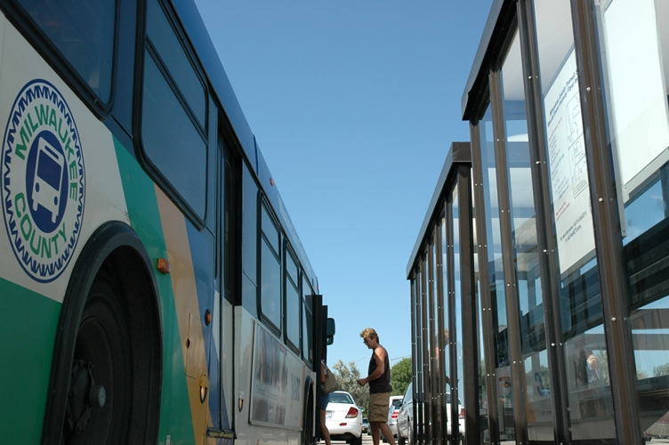 MCTS - Bus, Shelter, and Man