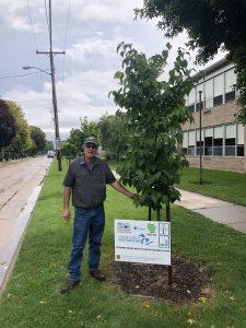 Bill Sturm, Oshkosh City Forester & Landscape Operations Manager.