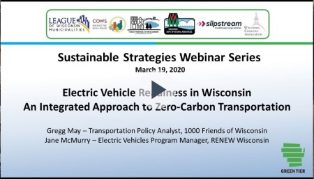 Electric Vehicle Readiness in Wisconsin