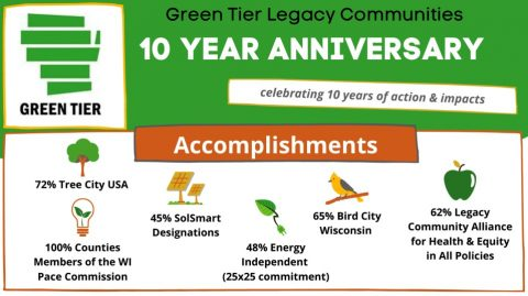 Green Tier Legacy Communities 10 Year Anniversary
