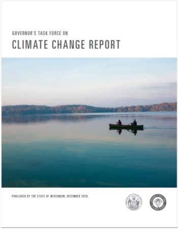Governor's Report on Climate Change Report Cover