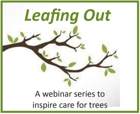Leafing Out Webinar Series Logo
