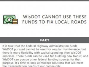 Correcting WisDOTs Misinformation Campaign Factsheet