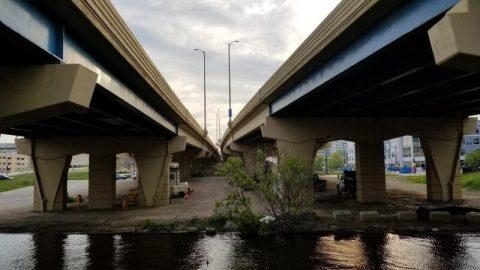 Underneath I-94